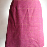 台形のウールスカート