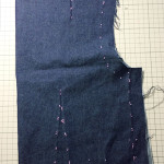 ドレメ課題「ツーピースドレス製図」返却されました。