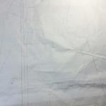ドレメ課題8(5-1)ローブ製図できあがり。